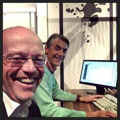 Samen de Alvs 2018 van #broodfonds040 voorbereiden; vinden secretaris Thom en ik leuk om te doen... :-) #myview #bestuur #cooperatie #vereniging #broodfonds