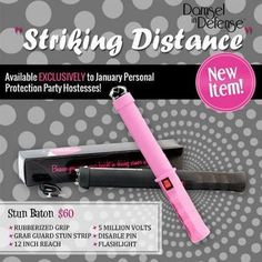 New Item from Damsel in Defense-Striking Distance- 5 million Volts