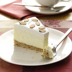 Enjoy this almond cheesecake recipe. For more recipes visit www.dessert-addict.com