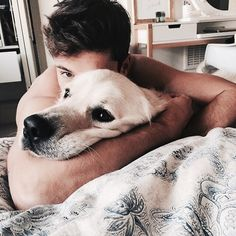 man and dog Animals And Pets, Baby Animals, Cute Animals, Cute Puppies, Dogs And Puppies, Doggies, Mans Best Friend, Best Friends, Man And Dog