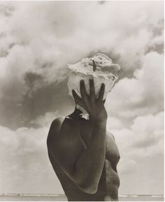 Artwork by Herb Ritts, Man Holding Shell, Australia, Made of Gelatin silver print Magritte, Herb Ritts, Getty Museum, Portraits, Famous Photographers, Richard Gere, Poses, Fine Art Photography, Sebastiao Salgado