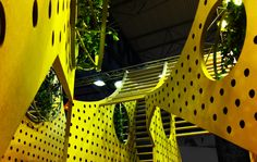 Green Pavilion for Sika, Barcelona, 2012 by SMAR