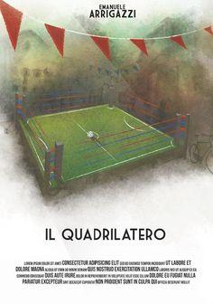 """9° Classificato Contest """"Una Locandina per il Quadrilatero""""  Artwork by Paul Mellidi."""