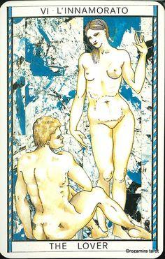 VI. The Lovers  - Tarocco Mitologico by Amerigo Folchi