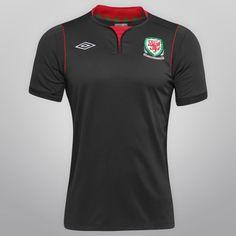 Acabei de visitar o produto Camisa Umbro Wales Away 11/12 s/nº