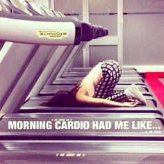Lol that's how I feel at times.. 4:30am fasted HIIT cardio comes quick!