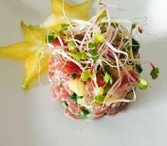 Tuna and Pineapple Tartare | SeasonsTaproom.com