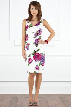 Sasumi Dress £95  Figure hugging and floral!
