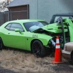 2015, dodge, hellcat, crash, colorado Let this 2015 Dodge Challenger Hellcat crash be another reminder to be careful and stay safe.