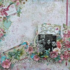Love Life's Little Pleasures: Love You - 2Crafty Chipboard