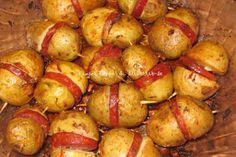 Batatas com Chouriço