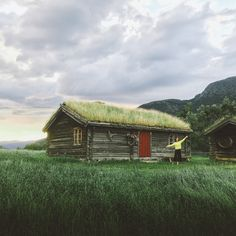http://cabinporn.com/post/164560203884/200-year-old-viking-cabin-in-the-norwegian-fjords