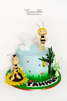 Bee Maya and her friends by Alina Vaganova