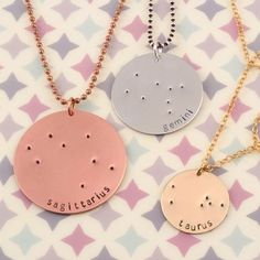 Zodiac, Constellation Jewelry is always so beautiful! Show off your sign by…