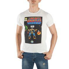 b3b62c3c206f0a Thanos The Infinity Gauntlet Men s White T-Shirt