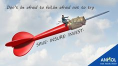 Do not be afraid to try. #save #insure #invest   #happy #saving #investing #anmolshare #NSE #BSE #stocks #trade