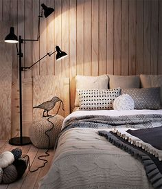 Minimal Room Ideas: Sleeping In Style.  Tags: #scandinavian #room #interior #minimal #smallroom #apartment