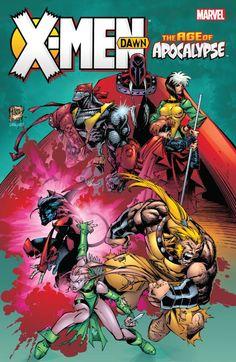 X-Men: Age of Apocalypse - Dawn #TPB #Marvel #XMen #AgeOfApocalypse (Cover Artist: Adam Kubert) Release Date: 2/10/2016