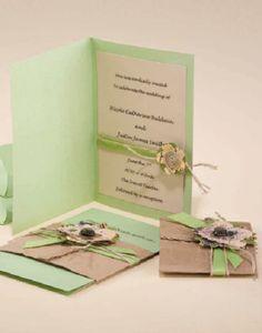 Nature-inspired Wedding Invitation