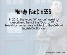 I had to look it up  http://oxforddictionaries.com/definition/english/Whovian