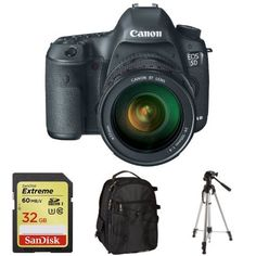 Canon EOS 5D Mark III with 24-105mm Lens + Free Accessories Canon http://www.amazon.com/dp/B00PFPOV9Q/ref=cm_sw_r_pi_dp_Lkkavb17B6NWH
