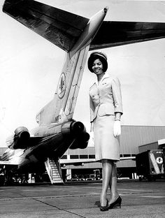 In December 1957, Mohawk Airlines hired the first African-American stewardess in the United States, Ruth Carol Taylor. Within months, TWA announced that it would hire a black stewardess, making it the first large airline to break the color barrier in passenger service.