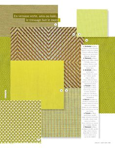 Interior Design Trends In Bright Citrus Colors Lime Lemon Yellow And Chartreuse Green From Elle