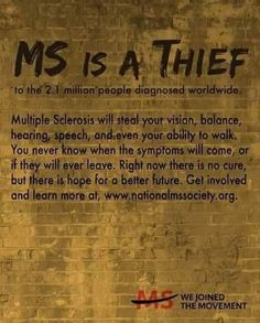 MS is a thief