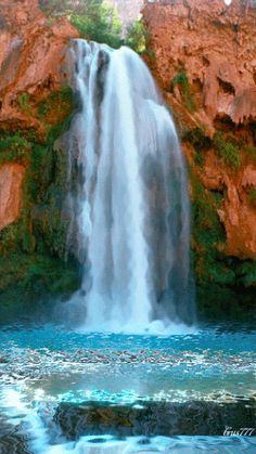 The perfect Water Fall Animated GIF for your conversation. Discover and Share the best GIFs on Tenor. Beautiful Nature Pictures, Beautiful Gif, Amazing Nature, Beautiful Places, Amazing Gifs, Image Nature, Les Cascades, Beautiful Waterfalls, Walking In Nature