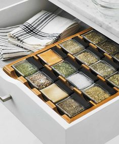 This clever spice rack organization makes your kitchen more functional,and beautiful too 16