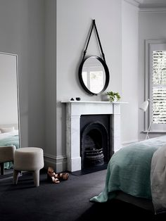 Dulux colours: Manorburn Quarter, Opononi. #Dulux #traditionalstyle #houseenvy #interiordesign #design #homedecor #style #bedroom #inspiration #interiorstyling #homedecoration #homestyle #duluxnz #fireplaceinspiration #paint #painting #paintinspiration
