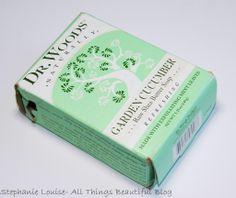 Dr. Woods Garden Cucumber Raw Shea Butter Soap Review http://stephanielouiseatb.blogspot.com/2013/11/dr-woods-garden-cucumber-raw-shea.html  #soap #gifts #glutenfree #vegan #natural #mint #sheabutter #review