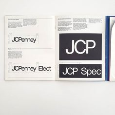 It's #ManualsMonday! Every Monday we share a #StandardsManual from the #archives! Unimark International's Chicago office won the contract to give JCPenney a new look in the late 1960s. Led by Jay Doblin, the design team included Heinz Waibl, Philip Seefeld, Steve Dunn, David Law, Harry Boller, and Dale Fahnstrom.  Today's manual is the interim manual created by Unimark which provided the foundation for their corporate identity program. Brand Guidelines, Corporate Identity, Jay, 1960s, Manual, Foundation, Chicago, David, Instagram