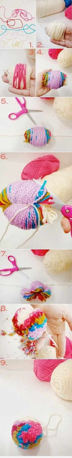 Bees and Appletrees  (BLOG): pom pom tutorial