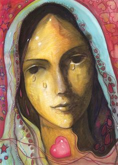 Madonna Delle Lacrime - Blue Angel Publishing - Fine Art Prints - Toni Carmine Salerno