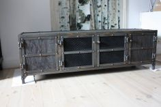 loft industrial furniture vintage cabinet