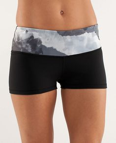 Love these - too short to wear outside, so they're my new pj shorts