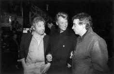 Serge Gainsbourg, Johnny Hallyday et Michel Sardou