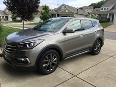Here is my new 2017 Hyundai Santa Fe Sport Ultimate. I used Collimate 845 wax and I'm very impressed with the results. Hyundai Santa Fe Sport, Sport 2, Fes, Youtube, Youtubers, Youtube Movies