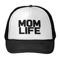 ec897dc03cc Mom Life Letters Print Baseball Cap Trucker Hat For Women Men Unisex Mesh  Adjustable Size Drop Ship