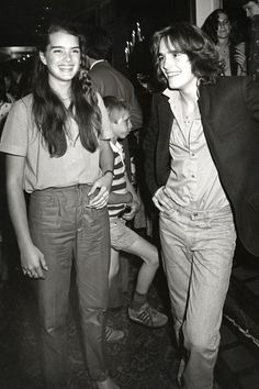 Brooke Shields and Matt Dillon