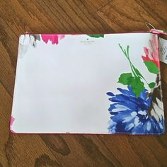 NWT Kate Spade flower pouch NWT Kate Spade flower pouch kate spade Bags Clutches & Wristlets