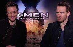 WATCH: James McAvoy,Michael Fassbender, Hugh Jackman, Peter Dinklage & Ellen Page - Xmen:DOFP Interview
