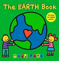 "To kick off a discussion on Earth Day in my classroom, we read ""The Earth Book"" by Todd Parr. This book is super simple and does a wonderful job illustrating ten simple ways the children can help take care of the earth. Toddler Books, Childrens Books, Toddler Storytime, Kid Books, Toddler Preschool, Toddler Crafts, Earth Day Pictures, Todd Parr, Earth Book"