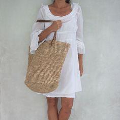 Large Straw Bag, Straw Beach Bag,Straw Bag