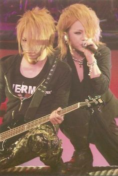 ♡ Reita y Ruki -The GazettE