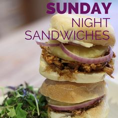 Sunday Night Sandwiches: 12 Dinners Your Family Will Love | A Dish of Daily Life #sponsored #SandwichRecipes #Dinner