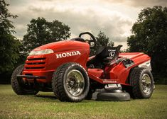 Rethinking your standard riding lawn mower, the folks at Honda have introduced their aptly...