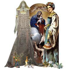 The Noble Elena-Marie dei Conti Orsini di Pitigliano (daughter of Count Niccolò di Pitigliano and Guglielmina, a commoner of humble birth) - Wife of Sultan Cem