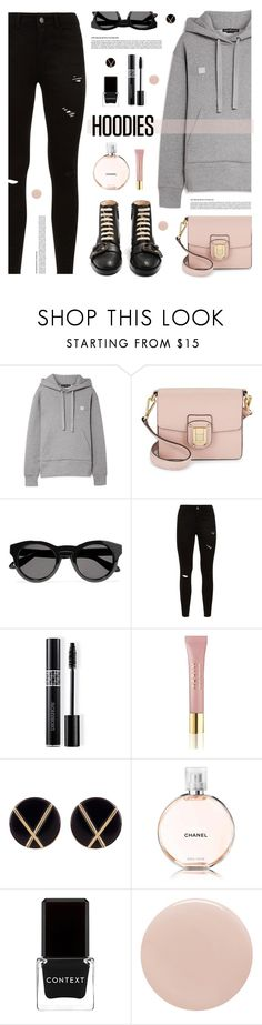"""""""Untitled #561"""" by tamara-p ❤ liked on Polyvore featuring Acne Studios, Sam Edelman, Givenchy, Christian Dior, AERIN, Botkier, Chanel, Context, Tom Ford and Gucci"""